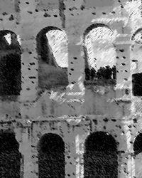 Colosseum B&W Chalk