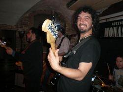 Con el gran bluesman de Chicago Tino Gonzales