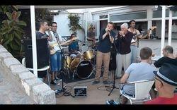 Con Greg Zlap, Joan Pau Cumellas, Miguel Talavera y Agusti Borrell