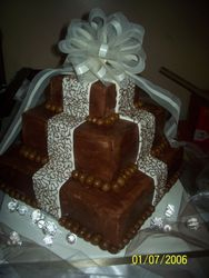 Chocolate and Champaign Wedding