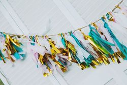 Tissue Paper Streamers