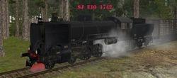 SJ E10 1742 built 1947