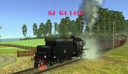 SJ G4 1418 built 1918