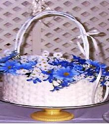 Beautiful Basket Cake!