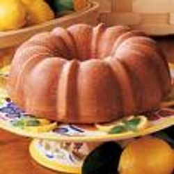 Lemon Bundt Cake! Delicious.