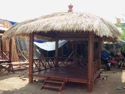 Gazebo Alang-alang Roof