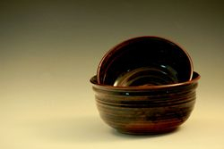 Temoku Brown: Large Bowls