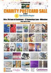 Wilmslow Art Trail Charity Postcard
