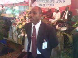 Vice President - M/W Ronald Blissett