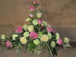 Entrance to Church Flower Arrangement - Florist Shrewsbury