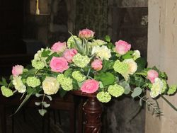 Pedestal Flower Arrangement - Florist Shrewsbury