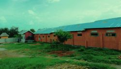 Primary classroom block back view