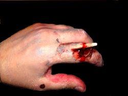 Gore hand