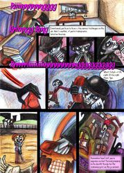 Dee and Okault's comic page