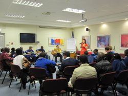 Blues Workshop with local Schools
