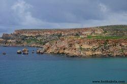 'ghajn tuffieha' Malta.