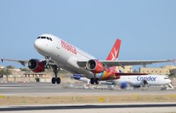 AirMalta shortly after take off !!
