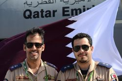 Qatar Air Force.