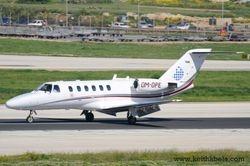 Opera Jet Cessna 525A.