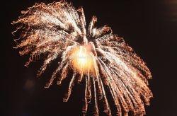 Fireworks at Malta.