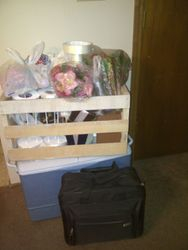 All packed up and ready to go