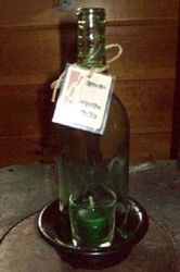 Bottle Candle