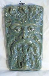 Oblong Green Man