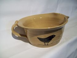 Yellow Ware Batter Bowl