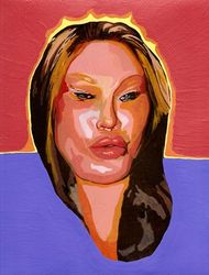 You are both death mask and beacon of emptiness, in our cultural sea of bullshit (Jocelyne Wildenstein)