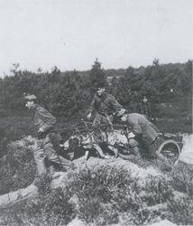 Kepie 1897 en shako model 1912