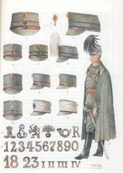 Kepie grijs/groen model 1916