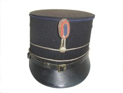 Kepie subalterne officier Marechausse 1940