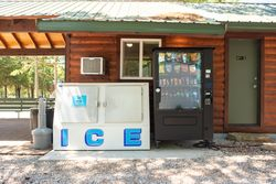 Vending and Ice Available on Property