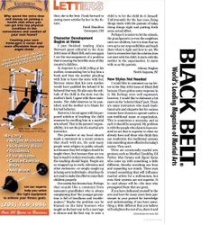 Black Belt Magazine 2002