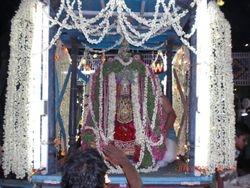 Utsava Moorthy (In decorated chariot)