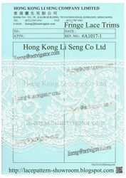 Embroidered Lace Trims Manufacturer Wholesale and Supplier