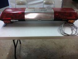 1-Federal Signal StreetHawk Series A Lightbar.
