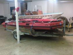 "Lake Clarke Rescue prepares for Hurricane ""Sandy""..."
