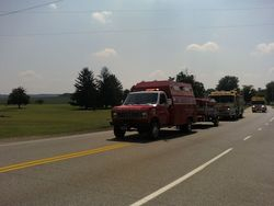 2011 York County Firemans Convention Parade
