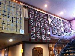 Antique Quilt Display