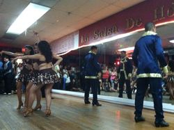 Latin Reflections performing at the 12th Anniversary Social