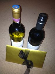 The lovely Gifts I received from my pupils at the show. Thank you xx