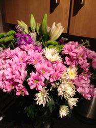 My gorgeous flowers from my pupils. Thank you x