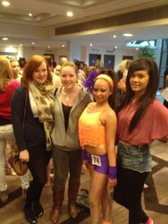 All the girls there supporting Melissa xx
