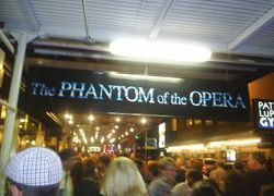 The Phantom Of The Opera, Broadway!!!
