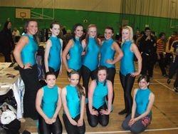 Some of the senior girls