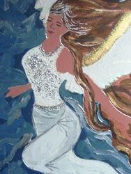 close up of Angelic Spirit