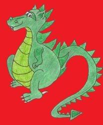Grifin The Little Green Dragon