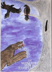 Fenrir and the Ravens