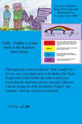 Golly-Gobble back cover